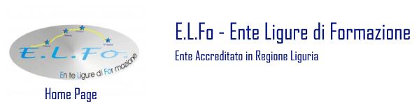 Logo for E.L.Fo. – Ente Ligure di Formazione